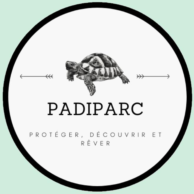 Logo du parc zoologique Padiparc à Padirac dans le Lot